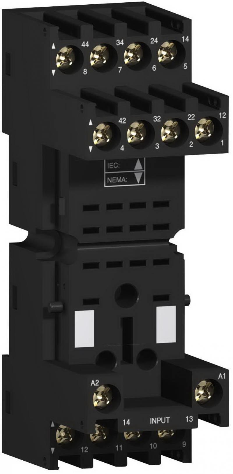 Колодка с комбинированными контактами Schneider Electric RXZE2M114M