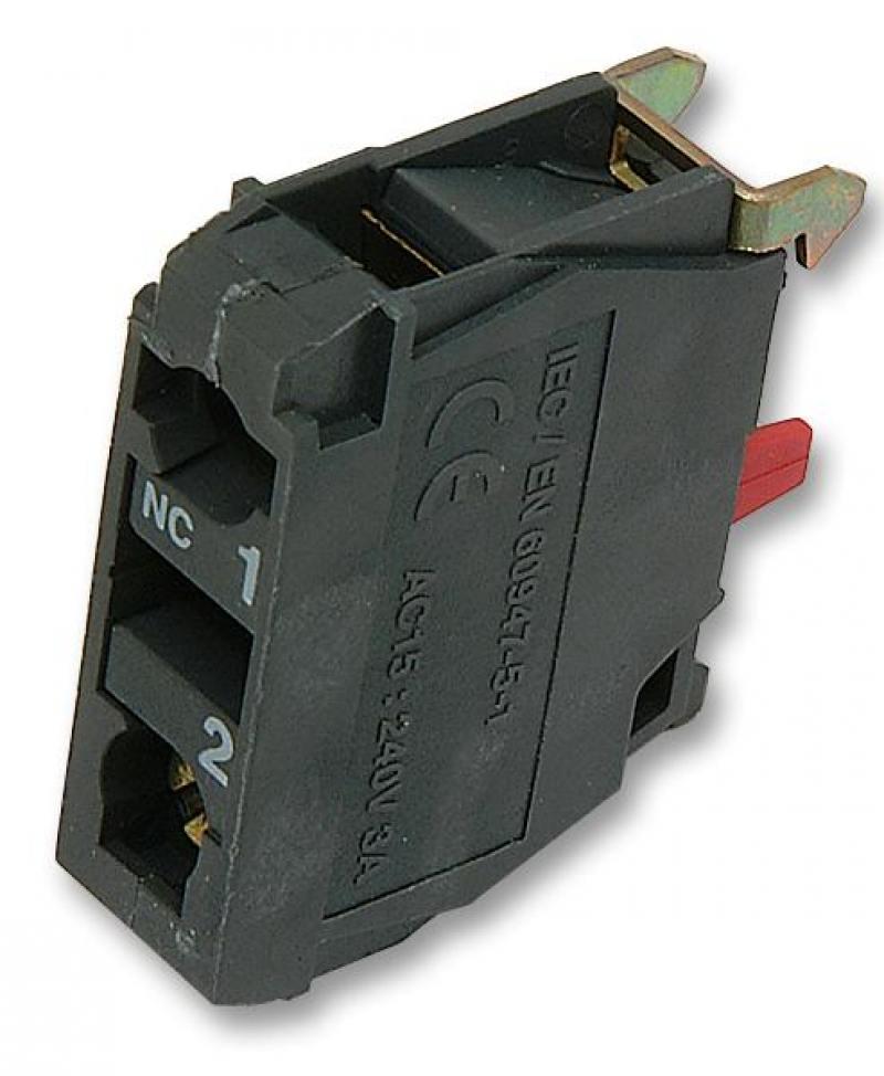 Блок контактный Schneider Electric ZBE102 блок светодиодный schneider electric 24в красный zbvb4
