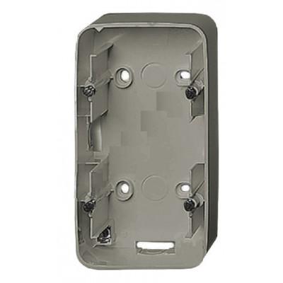 Коробка Legrand Valena Allure для накладного монтажа 2-постовая алюминий 755572