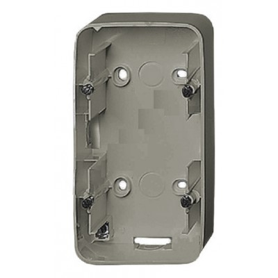 Коробка Legrand Valena Allure для накладного монтажа 2-постовая алюминий 755572 коробка legrand valena life для накладного монтажа 1 постовая слоновая кость 754201