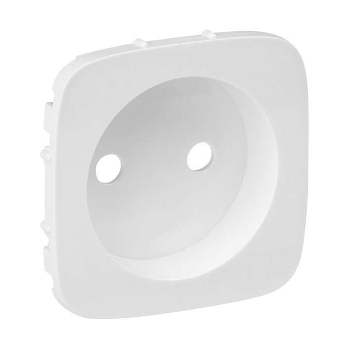 Лицевая панель Legrand Valena Allure силовой розетки 2К белый 754975 лицевая панель legrand valena allure силовой розетки 2к жемчуг 754979