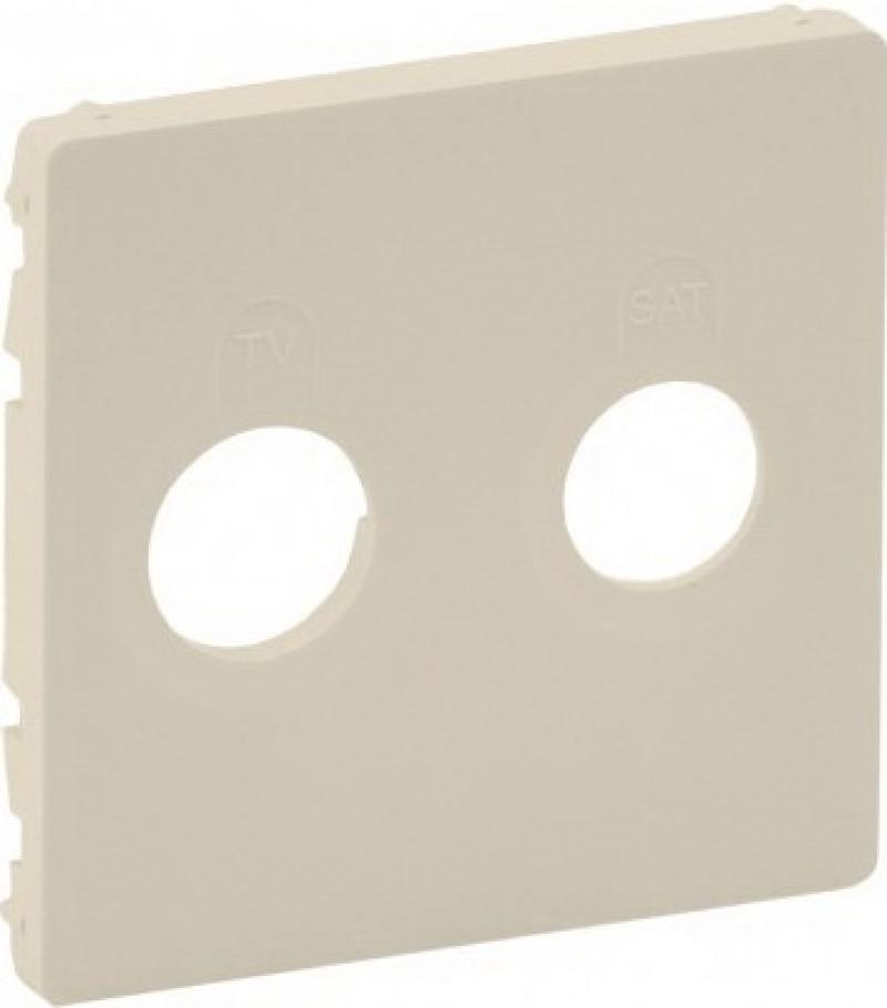 Лицевая панель Legrand Valena Life для розеток TV-SAT слоновая кость 754821