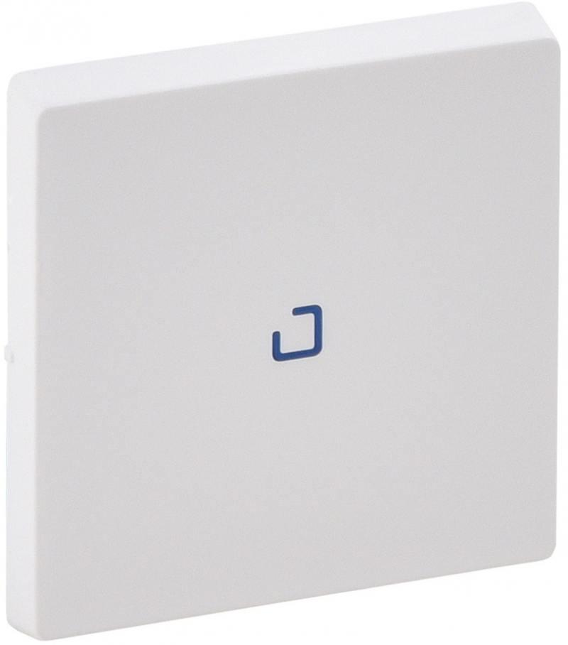 Лицевая панель Legrand Valena Life для выключателя одноклавишного с подсветкой/индикацией белый 7551