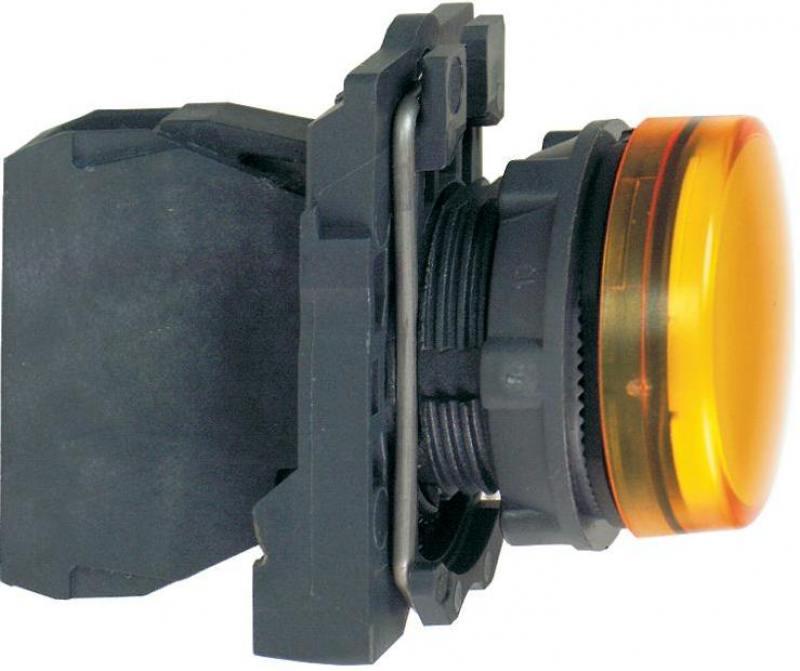 Лампа сигнальная Schneider Electric желтый XB5AVM5