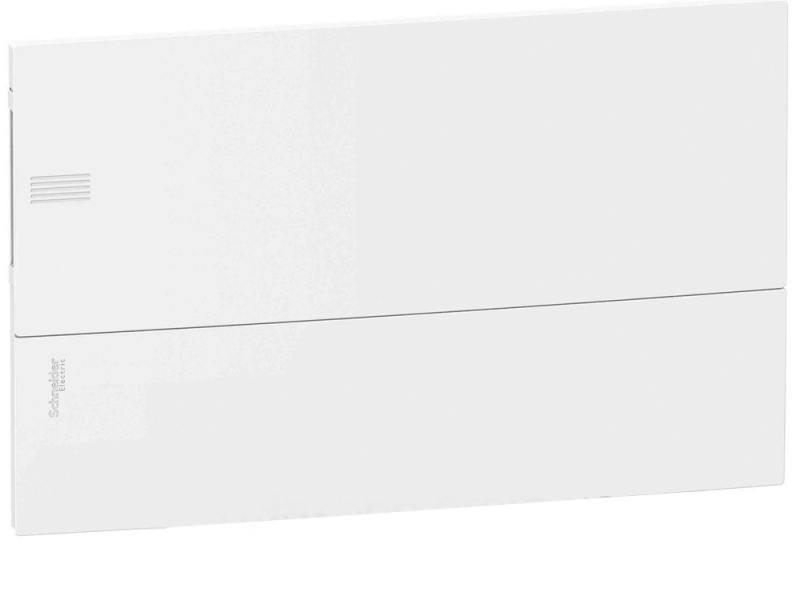 Шкаф электрический встраиваемый Schneider Electric Mini Pragma 1 ряд 18 модулей белая дверца MIP2211