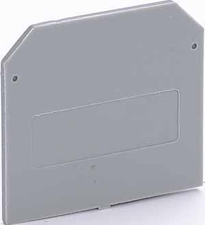 Заглушка Schneider Electric для зажимов наборных ЗН-101 35-50А серый 32430DEK