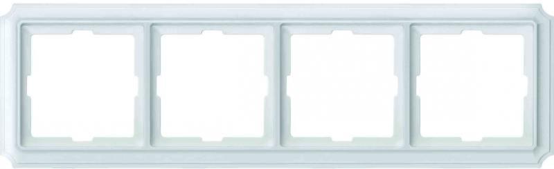 Рамка 4 пост белый Schneider Electric MTN483419