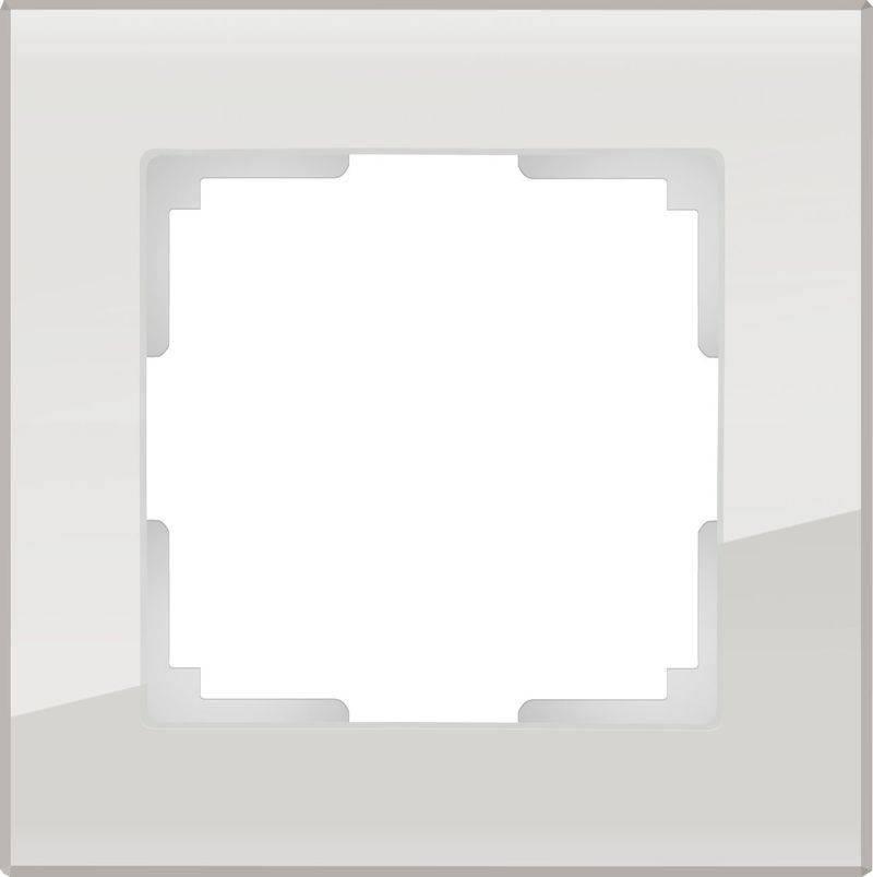 Рамка Favorit на 1 пост дымчатый WL01-Frame-01 4690389061301