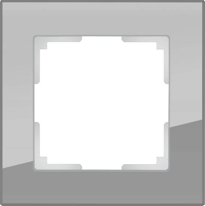 Рамка Favorit на 1 пост серый WL01-Frame-01 4690389061257