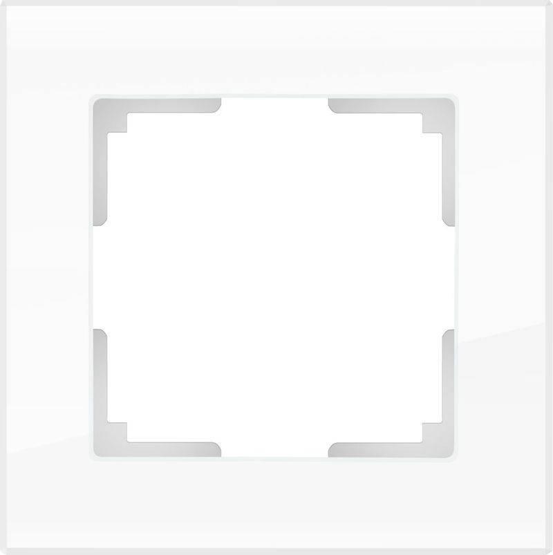Рамка Favorit на 1 пост белый WL01-Frame-01 4690389061202