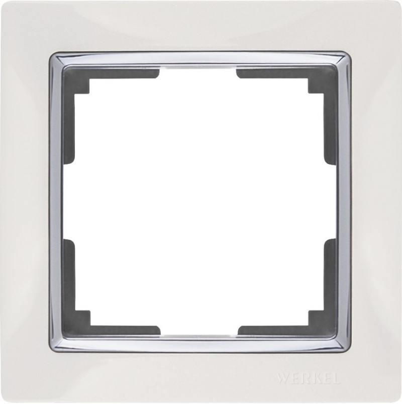 Картинка для Рамка Snabb Basic на 1 пост белый WL03-Frame-01 4690389098710