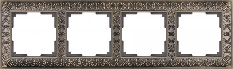 Рамка Antik на 4 поста бронза ...