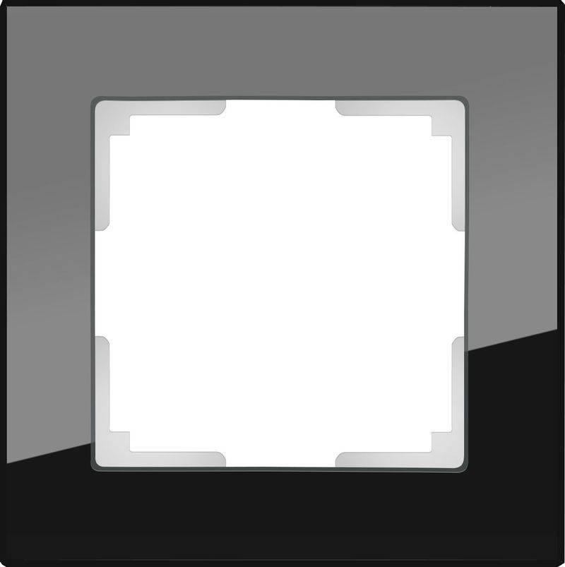 Рамка Favorit на 1 пост черный WL01-Frame-01 4690389063398