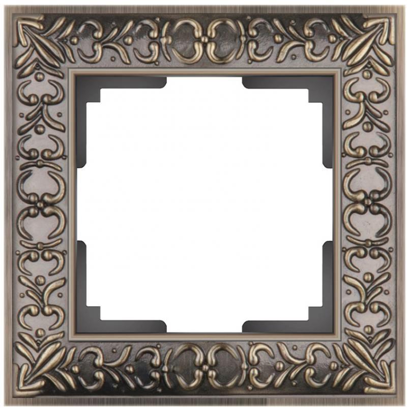 Картинка для Рамка Antik на 1 пост бронза WL07-Frame-01 4690389054358