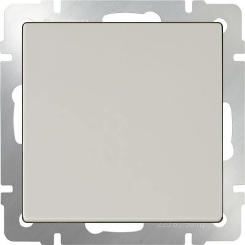 Выключатель одноклавишный проходной слоновая кость WL03-SW-1G-2W-ivory 4690389046155 werkel выключатель одноклавишный с подсветкой слоновая кость werkel wl03 sw 1g led ivory 4690389059261