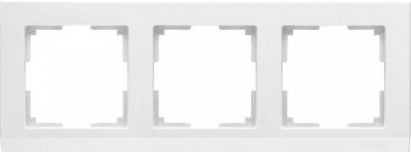 Рамка Stark на 3 поста белый WL04-Frame-03-white 4690389047121