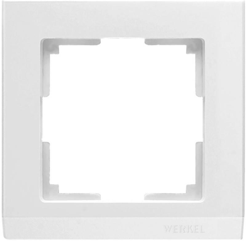 Рамка Stark на 1 пост белый WL04-Frame-01-white 4690389047107