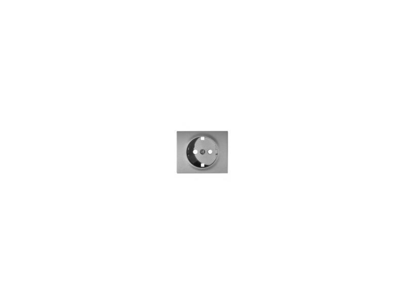 Лицевая панель Legrand Galea Life для розетки 2К+З алюминий 771320