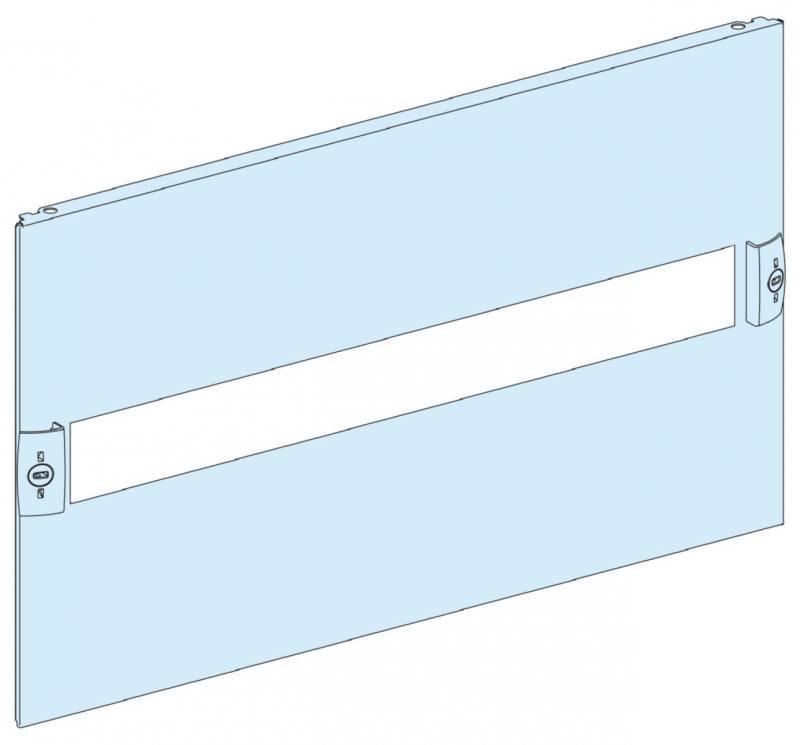 Передняя панель Schneider Electric с вырезом 5 модулей 03205 шкаф электрический напольный schneider electric ip55 27 модулей 8307