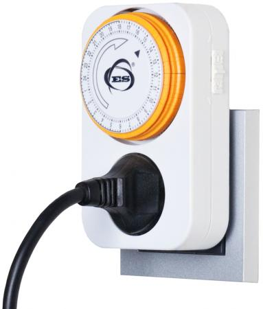 Розетка-таймер Elektrostandard TMH-M-1 16A x1 IP20 Белый 4690389032387