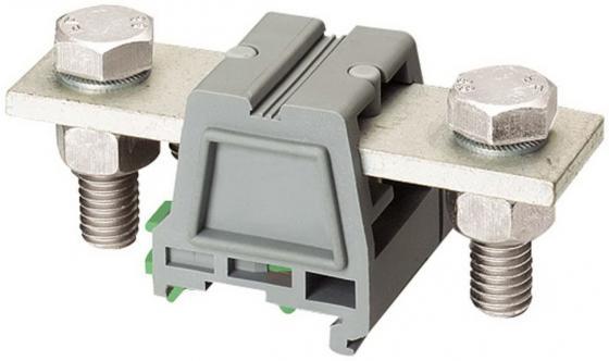 Клеммник Schneider Electric с креплением типа болт-болт 2 точки подключения NSYTRV952BB болт мебельный din603 с гайкой m6х50 8шт