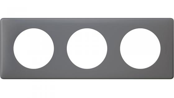 Рамка 3-постовая Legrand Celiane Фиолетовая перкаль 66733 legrand рамка четырехместная legrand celiane норка