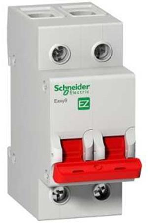 Рубильник мод. SCHNEIDER ELECTRIC EASY9 EZ9S16280 2П 80А 400В