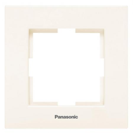 Рамка PANASONIC WKTF0801-2BG-RES Karre Plus 1м крем стоимость
