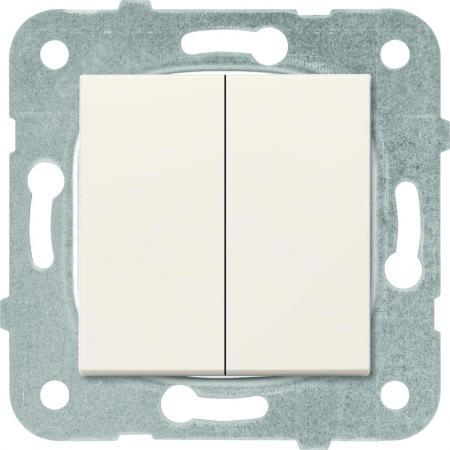 Механизм выключателя PANASONIC WKTT0009-2BG-RES Karre Plus 2кл крем