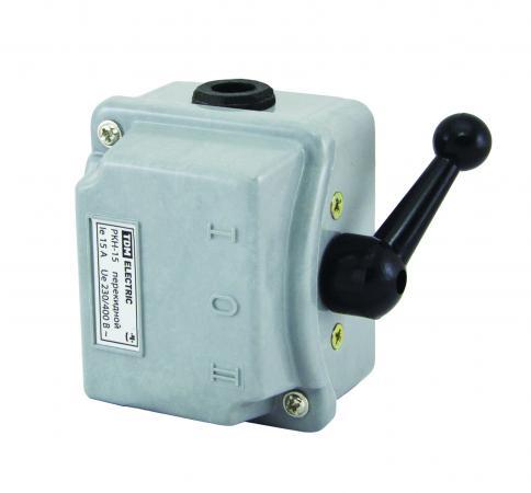 Рубильник ТДМ SQ0734-0006 IP40 30А перекидной ящик с понижающим трансформатором tdm ятп 0 25 sq1601 0006