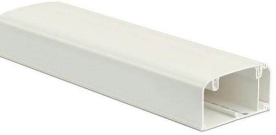 Dkc 09500 Кабель-канал 90 х 50 мм, с перегородкой, боковой и фронтальной крышками ( 2 метра)