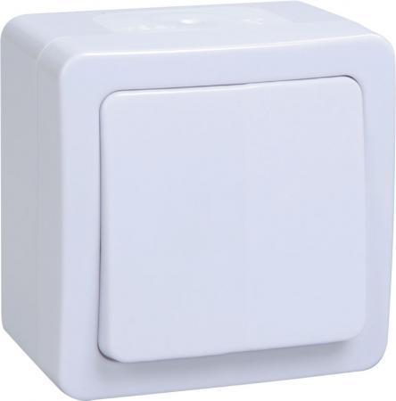 Iek EVMP10-K01-10-54-EC ВС20-1-0-ГПБ выкл 1кл о/у IP54 (цвет клавиш: белый) ГЕРМЕС PLUS