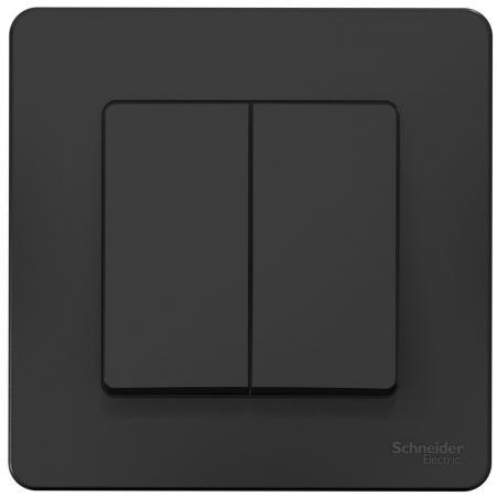 Выключатель SCHNEIDER ELECTRIC BLNVS010506 Blanca 2-кл. сп сх.5 10А 250В антрацит
