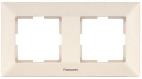 Рамка PANASONIC WMTF0802-2BG-RES Arkedia 2м горизонтальная крем