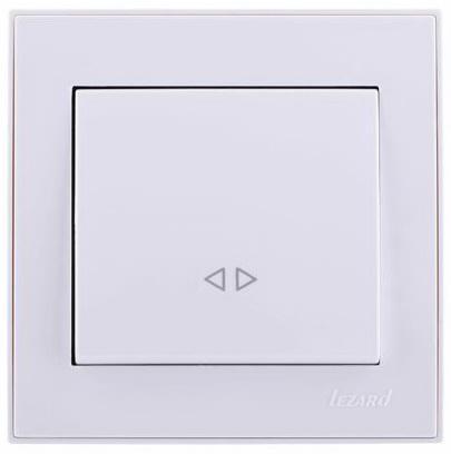 Выключатель LEZARD 701-0202-107 10 A белый