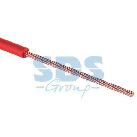 Провод ПГВА 1 х 0.50мм?, 100м, КРАСНЫЙ REXANT провод пгва 1х1 50 кв мм 100м красный rexant 01 6534