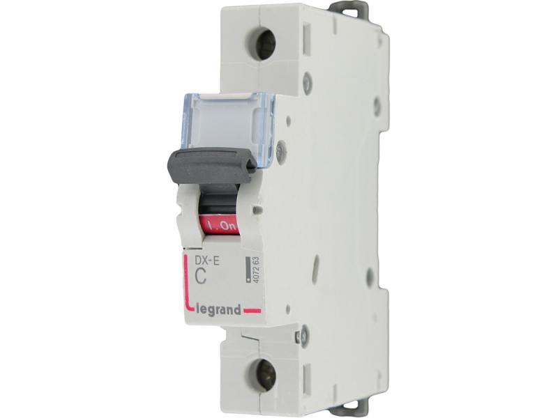 Автоматический выключатель Legrand DX-E 6000 6кA тип C 1П 230/400В 50А 407268