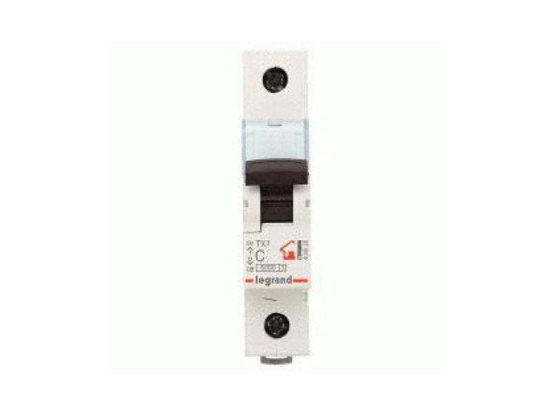 Автоматический выключатель Legrand TX3 6000 тип C 1П 10А 404026 автоматический выключатель sh202l 2p 10а с 4 5ка