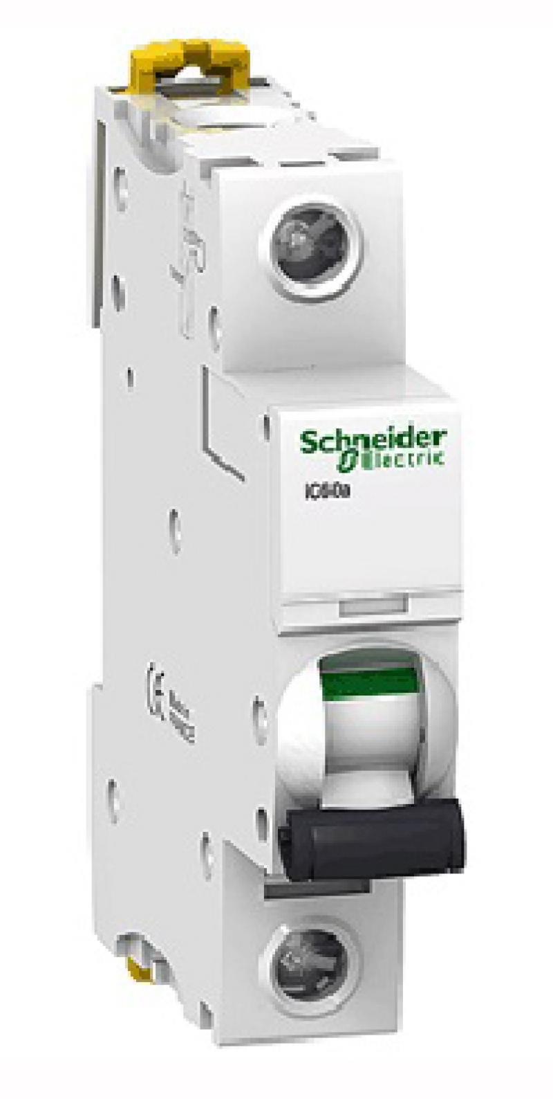 Автоматический выключатель Schneider Electric iC60N 1П 40A B A9F78140 панель лицевая schneider electric actassi 1 модуль белый 24 шт vdi88240