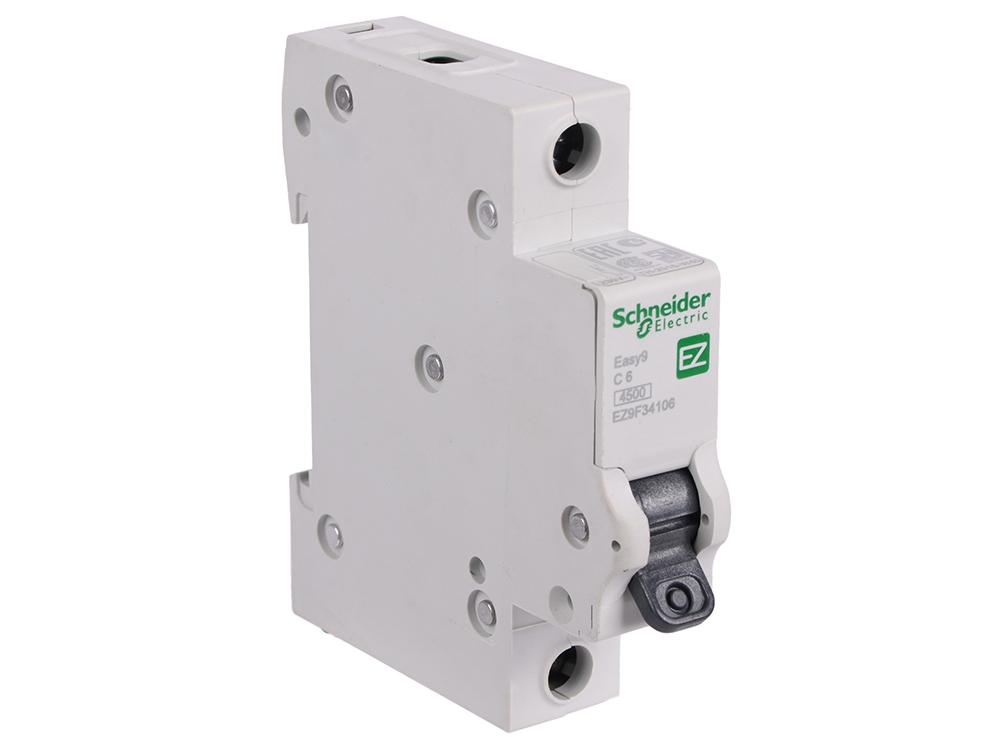 Автоматический выключатель Schneider Electric EASY 9 1П 6A C EZ9F34106
