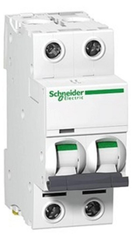 Автоматический выключатель Schneider Electric EASY 9 2П 63A C EZ9F34263 автоматический выключатель schneider electric easy 9 1п 63a c ez9f34163