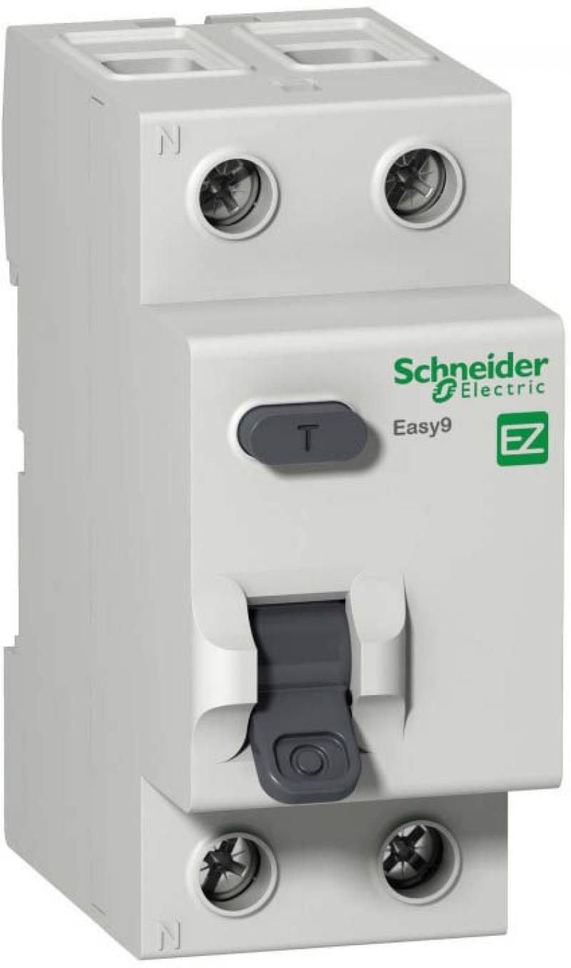 Выключатель дифференциального тока Schneider Electric EASY 9 2П 25А 30мА AC EZ9R34225