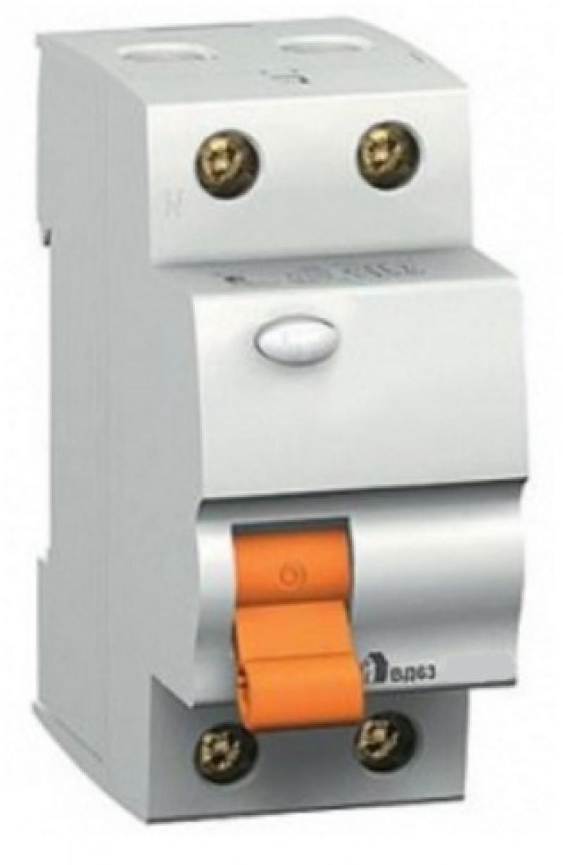 Выключатель дифференциального тока Schneider Electric ВД63 2П 25A 30мА 11450