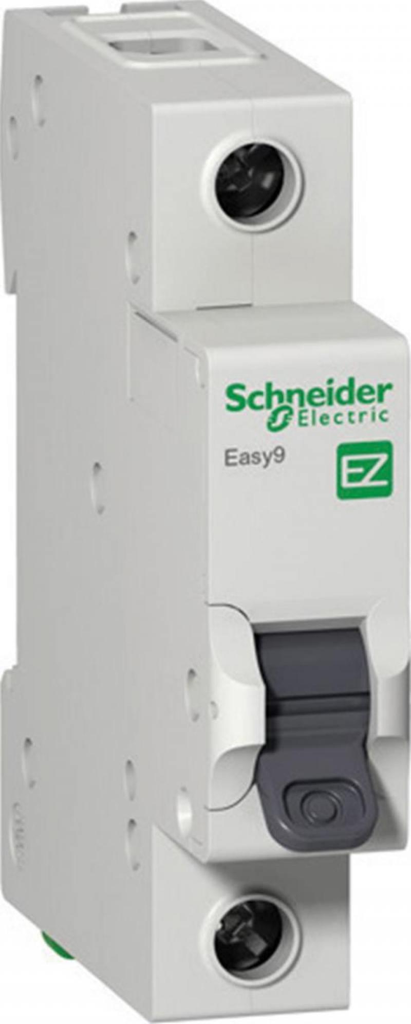 Автоматический выключатель Schneider Electric EASY 9 1П 40A C EZ9F34140 автоматический выключатель schneider electric easy 9 3п 40a c ez9f34340