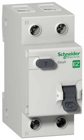 Выключатель дифференциального тока Schneider Electric EASY 9 1П+Н 16A 30мА AC EZ9D34616