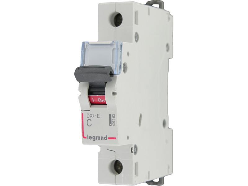 Автоматический выключатель Legrand DX3-E 6000 6кА тип C 1П 63А 407269 автоматический выключатель legrand dx3 e 6000 6ка тип c 1п 25а 407265