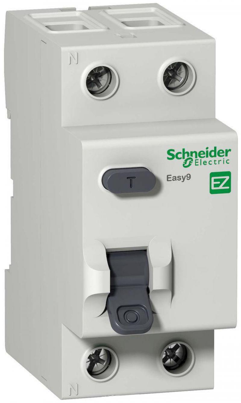Выключатель дифференциального тока Schneider Electric EASY 9 2П 40A 30мА AC EZ9R34240 new original mr j3 40a 1 3ph ac220v 400w ac servo drive
