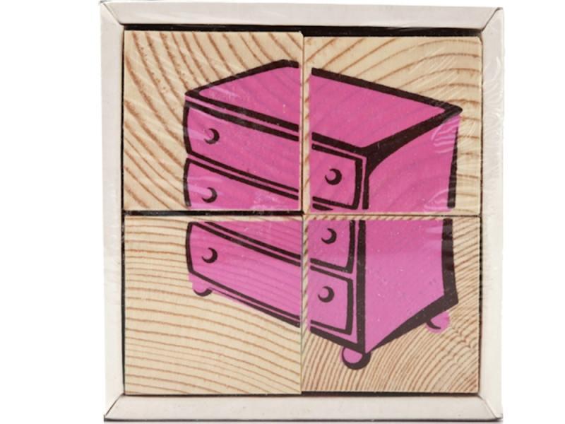 Кубики Томик Мебель 4 шт 3333-5 кубики томик игрушки от 3 лет 4 шт 3333 3