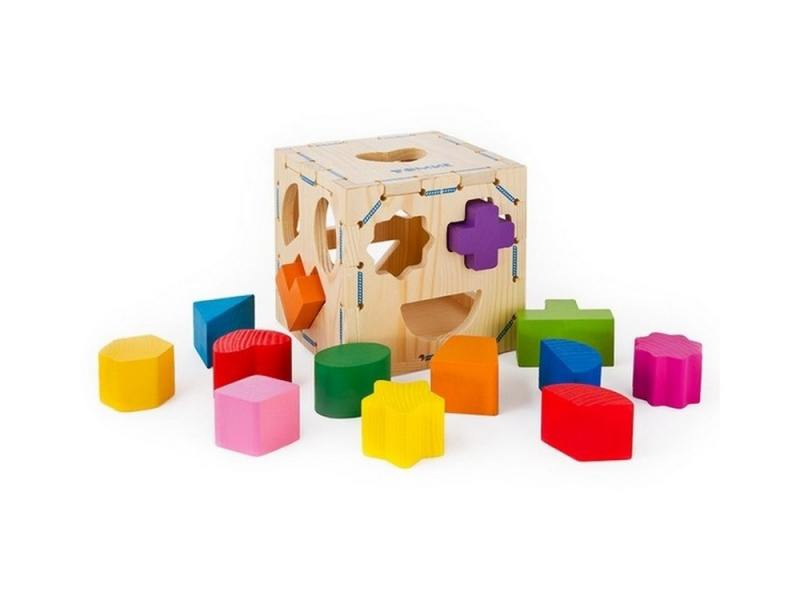 Сортер Геометрические фигуры, 14 дет Томик 967 игрушка сортер томик геометрические фигуры