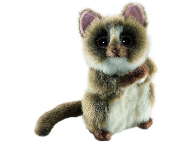 Мягкая игрушка герой мультфильма Hansa Долгопят 15 см коричневый синтепон